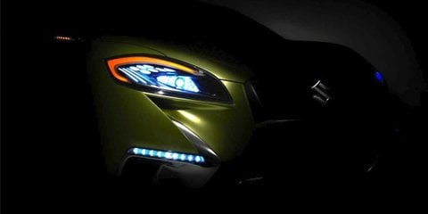 Suzuki S-Cross concept shows off its rear