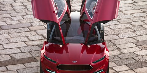 Ford Evos: stunning concept car hits 2012 Sydney show