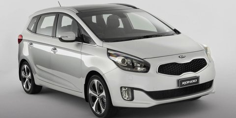 2013 Kia Rondo to debut at Sydney motor show