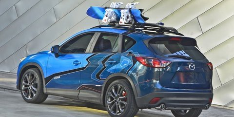 Mazda CX-5 trio pounces into SEMA