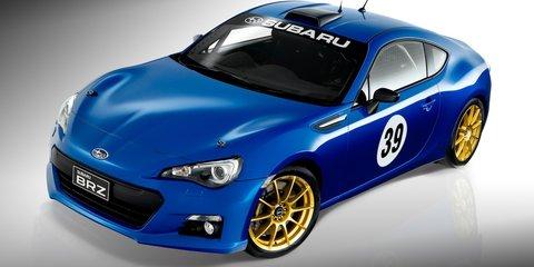 Subaru BRZ motorsport project car puts fans on track