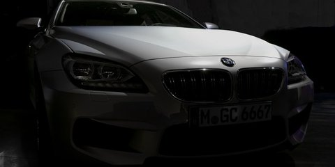 BMW M6 Gran Coupe pictures surface