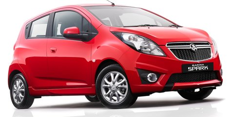 2012 Holden Barina Spark Review