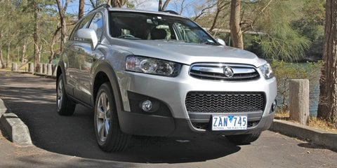 2012 Holden Captiva 7 Review