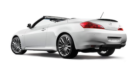 Infiniti G37 pricing and specifications