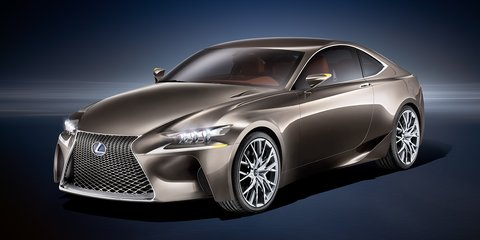 Lexus RC350: Australian trademark filing hints at new sports coupe