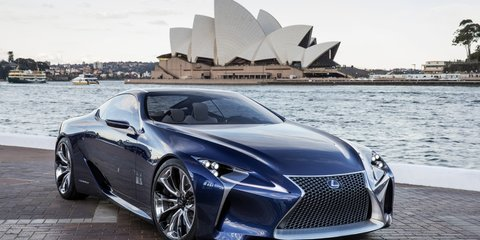 Lexus trademarks LC name in USA, Canada and Australia