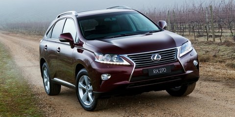 Lexus NX200t, NX300h: trademark applications hint at new baby SUVs