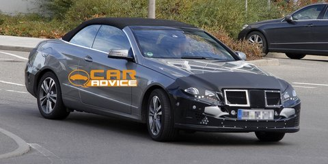 2013 Mercedes-Benz E-Class Cabriolet: luxury soft-top spied