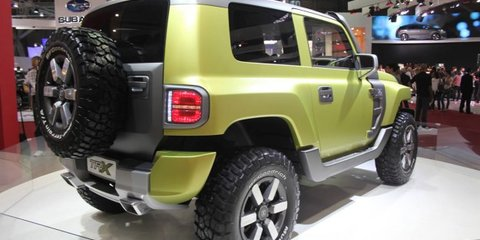 Troller TR-X concept unveiled at Sao Paulo motor show