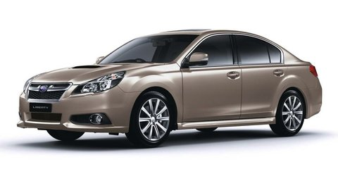 2013 Subaru Liberty: new engine, revised dynamics for updated range