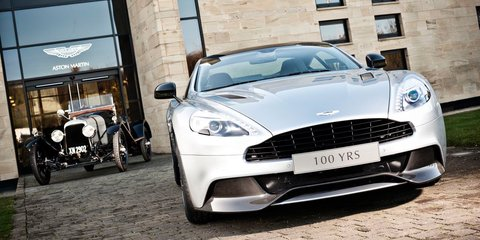 Aston Martin celebrating 100 years in 2013