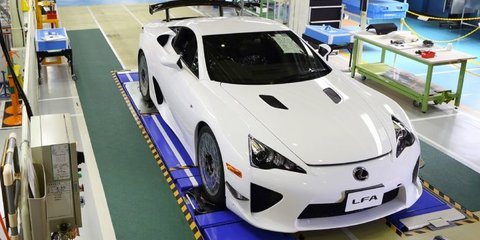 Lexus LFA: production of epic Japanese supercar ends