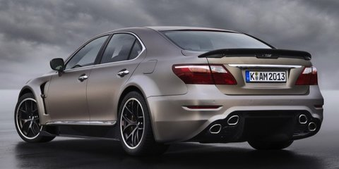 Lexus LS TMG Sports 650: supercar performance for luxury limo