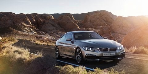 BMW 4 Series Coupe concept revealed