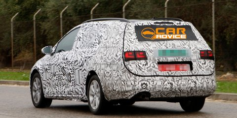 2014 Volkswagen Golf Wagon: first look at larger Mk7 load-lugger