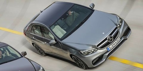 2013 Mercedes-Benz E63 AMG: first official image of M5 fighter