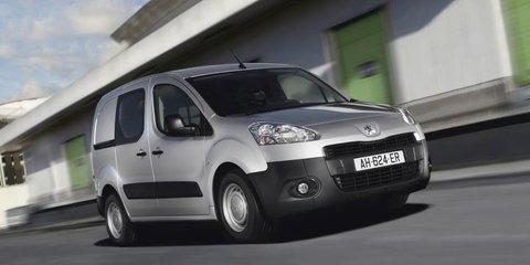 Peugeot Expert, Partner van ranges updated for 2013