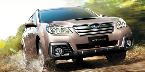 2013 Subaru Outback becomes local brand's first diesel auto