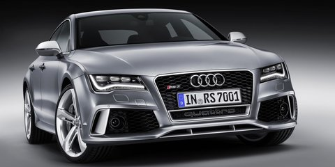Audi RS7 Sportback: 412kW 'four-door coupe' debuts in Detroit