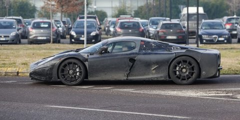Ferrari Enzo successor caught on public roads