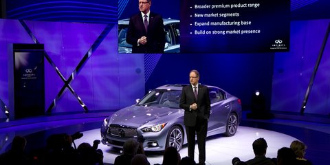 Infiniti to expand models, manufacturing, towards 2025