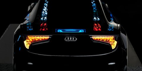 Audi showcases new lighting, autonomous driving technology