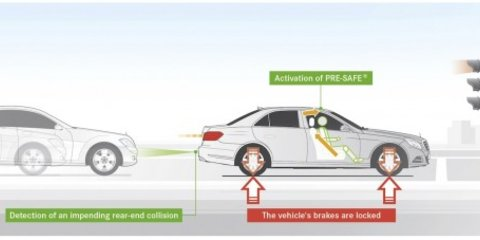 Mercedes-Benz E-Class trumps S-Class with safety technology