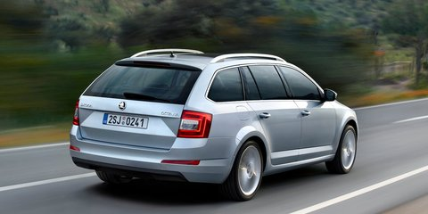 2013 Skoda Octavia wagon revealed
