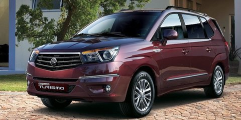 Ssangyong Stavic: 11-seat people-mover revealed