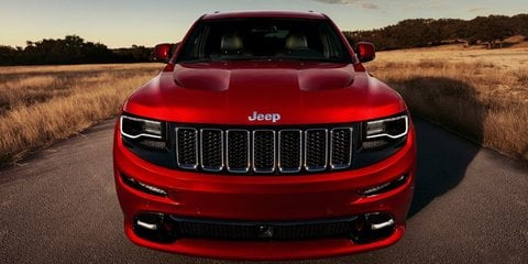 2014 Jeep Grand Cherokee SRT8 track tested by CEO