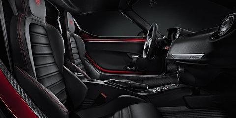 Alfa Romeo 4C interior revealed