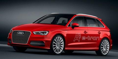 Audi A3 e-tron: plug-in hybrid hatch here next year