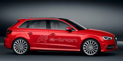 Audi A3 e-tron: concept nails 1.5L/100km fuel economy