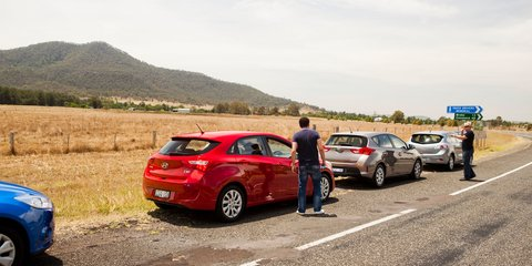 Small car comparison: Toyota Corolla v Hyundai i30 v Mazda3 v Ford Focus