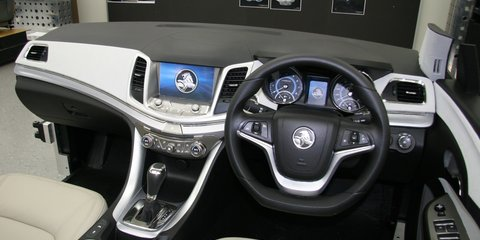 Holden VF Commodore: inside the designer's lair