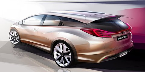 Honda Civic Wagon concept, next-gen NSX headed to Geneva