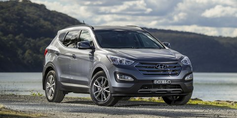 Hyundai Santa Fe: heavy duty towing kit boosts down ball rate to 150kg