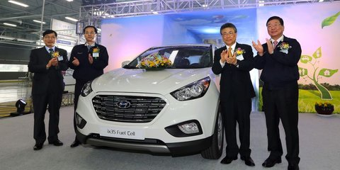 Hyundai builds world's first fuel cell production car