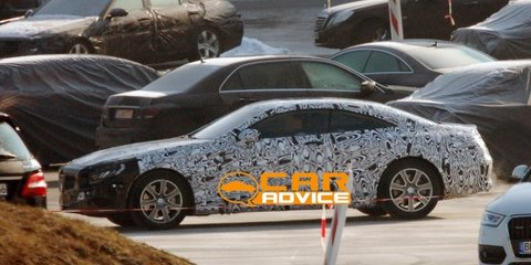 Mercedes-Benz S-Class Coupe caught