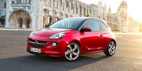 Opel Adam: customisable city car a challenge for Australia