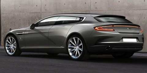Aston Martin Rapide Bertone Jet 2+2 shooting brake revealed