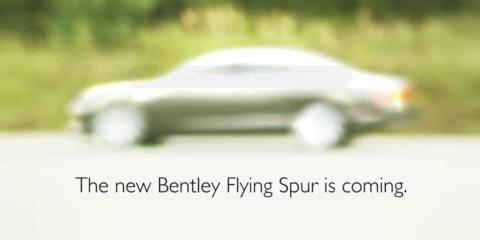 Bentley Flying Spur: sneak peek at second-gen super-luxury four-door