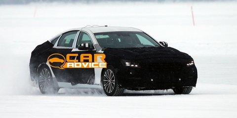 2014 Hyundai Genesis spied, all-wheel-drive confirmed