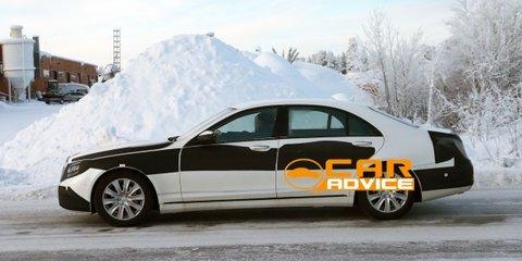 Mercedes-Benz S-Class caught undisguised