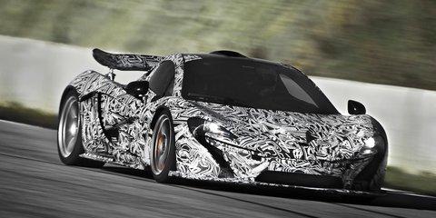 McLaren P1: British hypercar's 673kW hybrid drivetrain revealed