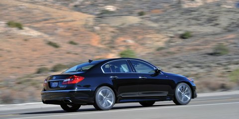 Hyundai Genesis V8 R-Spec Review
