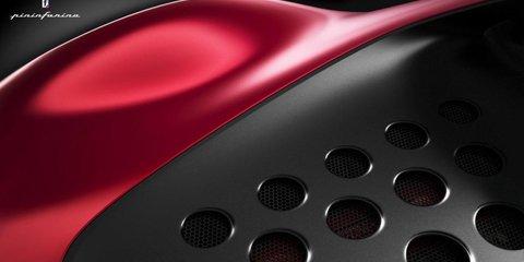 Pininfarina Sergio concept to honour iconic designer