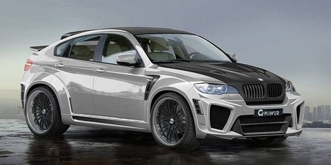G-Power BMW X6 Typhoon RS V10: the world's fastest SUV