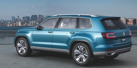 Volkswagen CrossBlue: Australia puts hand up for seven-seat SUV